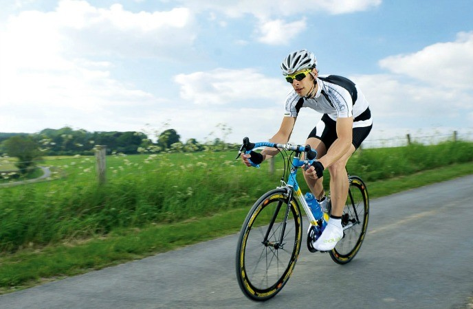 body-sculpting exercises - Bicycle