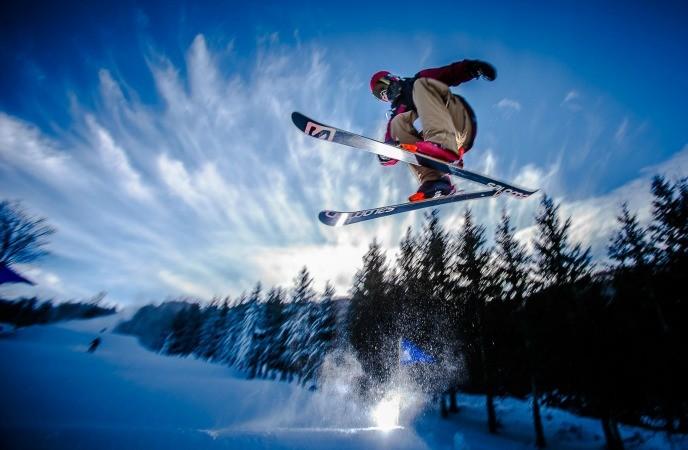 body-sculpting exercises - ski jump