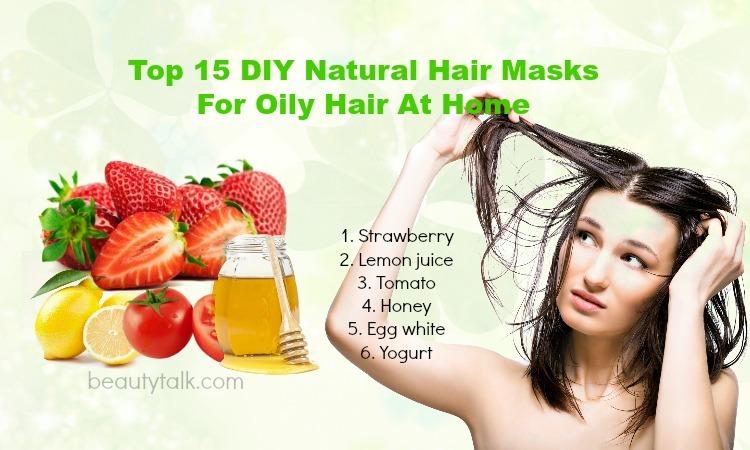 hair masks for oily hair