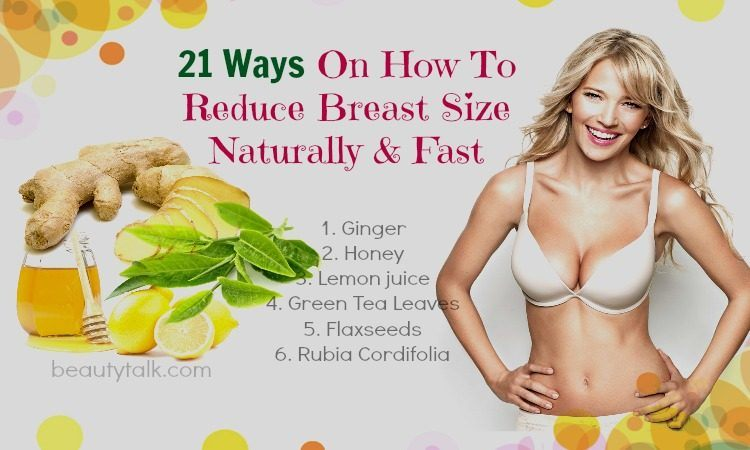 21 Tips How To Reduce Breast Size Without Going Under Knife