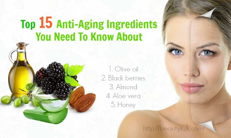 Anti-aging ingredients