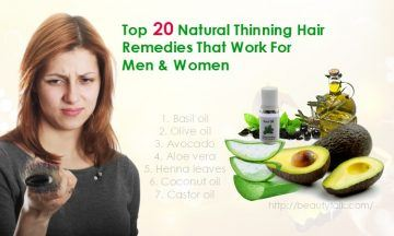 thinning hair remedies