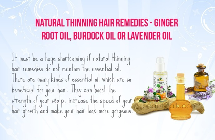 thinning hair remedies