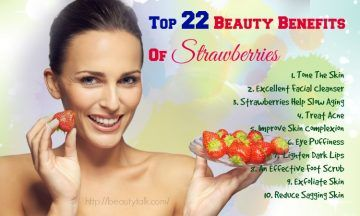 beauty benefits of strawberries