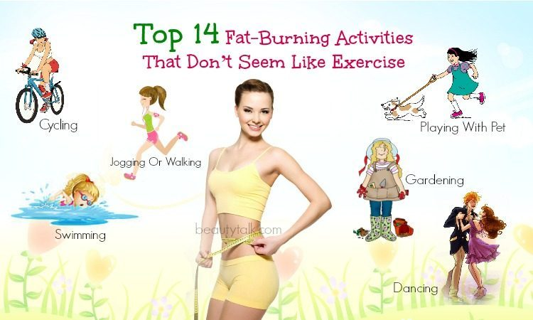 fat-burning activities