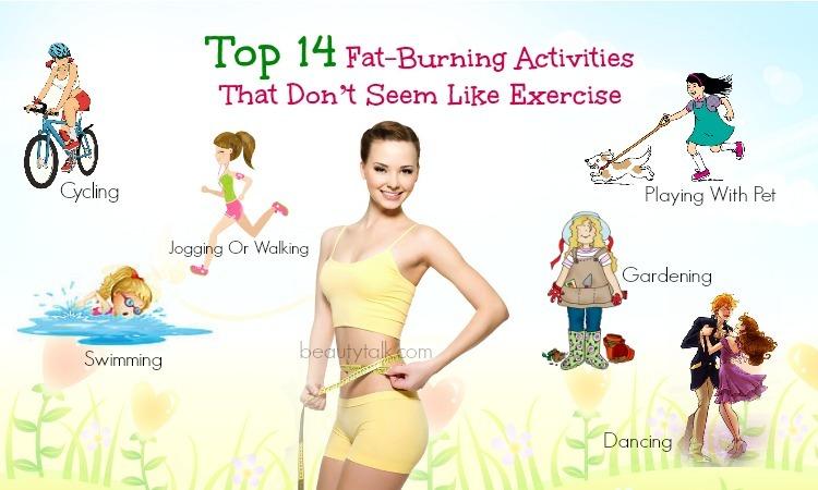 fat-burning activities