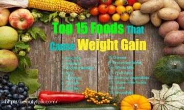 foods that cause weight gain