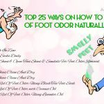 how to stop foot odor fast