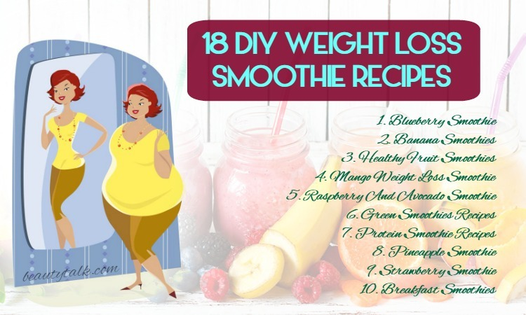 18 Diy Weight Loss Smoothie Recipes Nutritionists Recommended