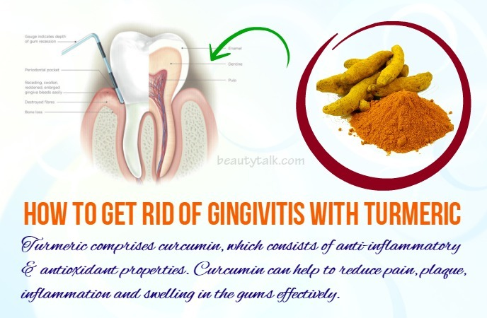 how to get rid of gingivitis - turmeric