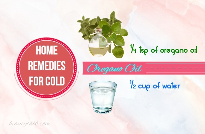 home remedies for cold -