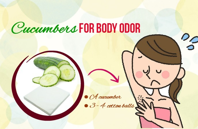 how to get rid of body odor
