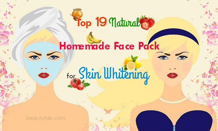 Face Pack For Skin Whitening