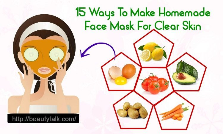 face mask for clear skin