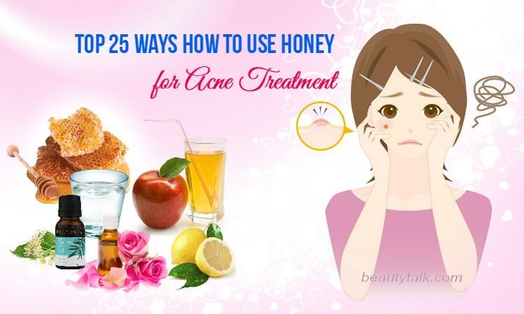 Honey For Acne