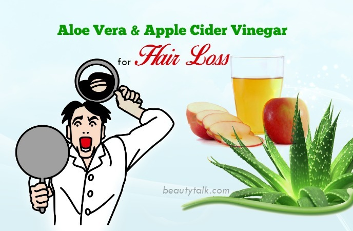 apple cider vinegar for hair loss