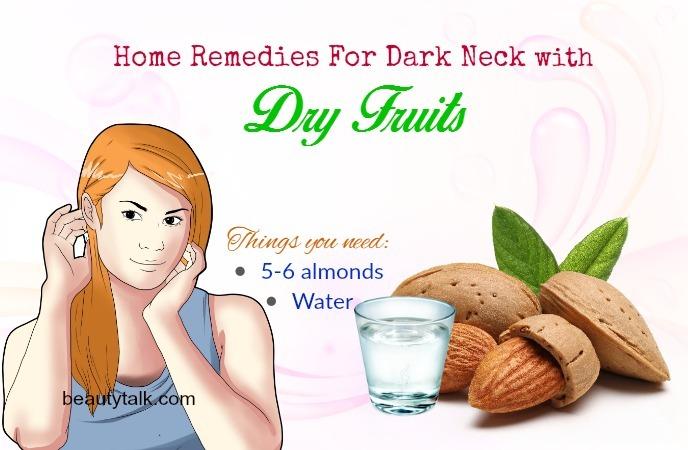 home remedies for dark neck