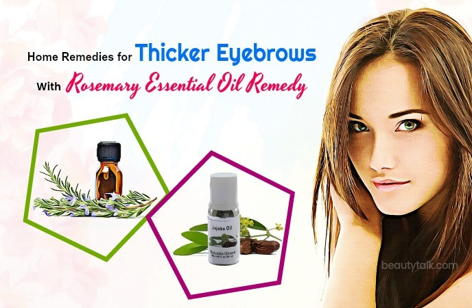 home remedies for thicker eyebrows