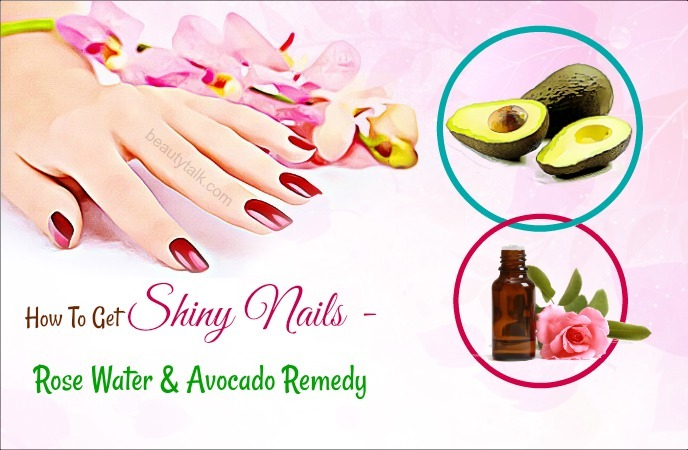 how to get shiny nails