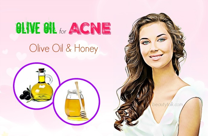 olive oil for acne