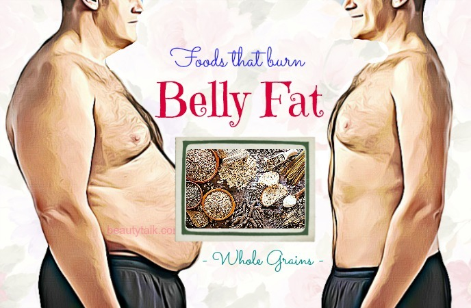 foods that burn belly fat