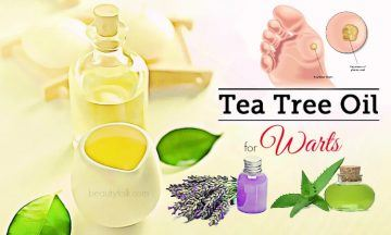 tea tree oil for warts