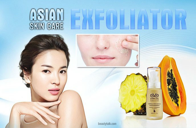 asian skin care - exfoliator