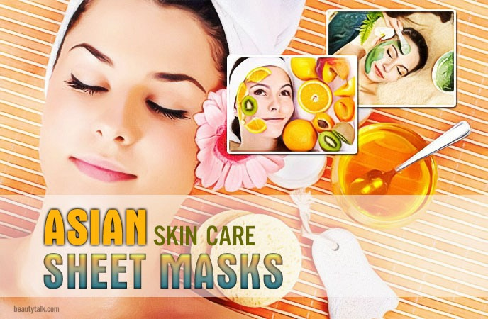 asian skin care - sheet masks
