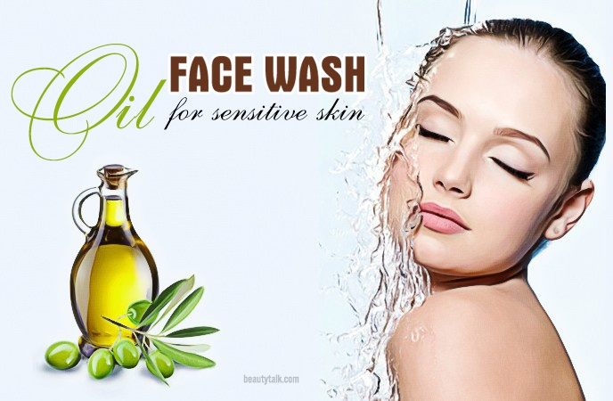 face wash for sensitive skin - oil face wash