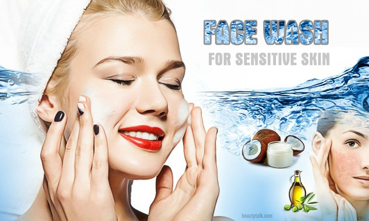 face wash for sensitive skin ways