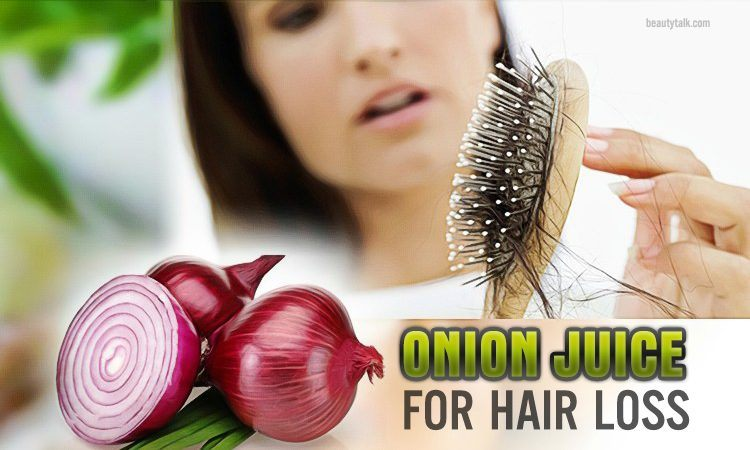 ways to use onion juice for hair loss