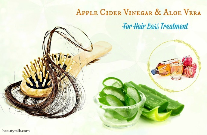 aloe vera for hair loss - apple cider vinegar & aloe vera for hair loss treatment