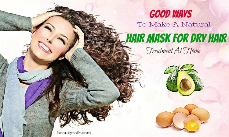 natural hair mask for dry hair