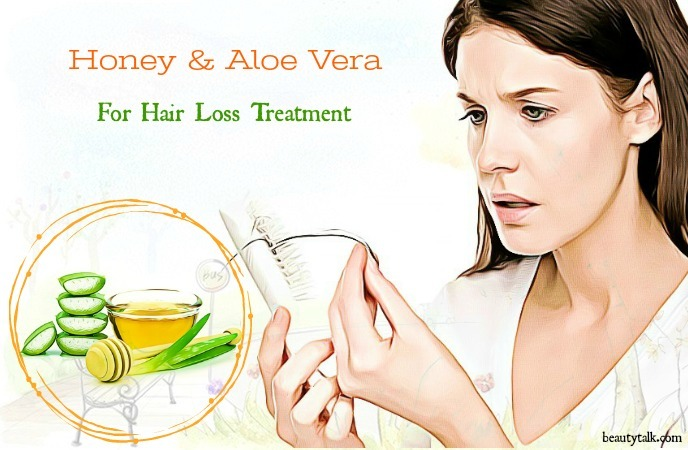 aloe vera for hair loss - honey & aloe vera for hair loss treatment