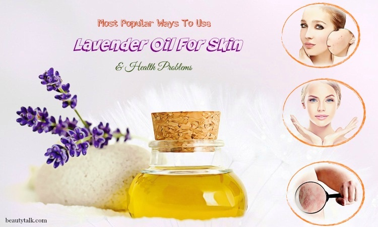 lavender oil for skin problems