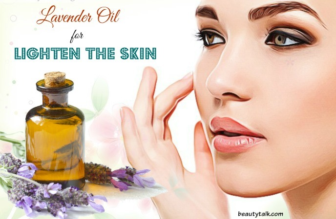 lavender oil for skin - lighten the skin