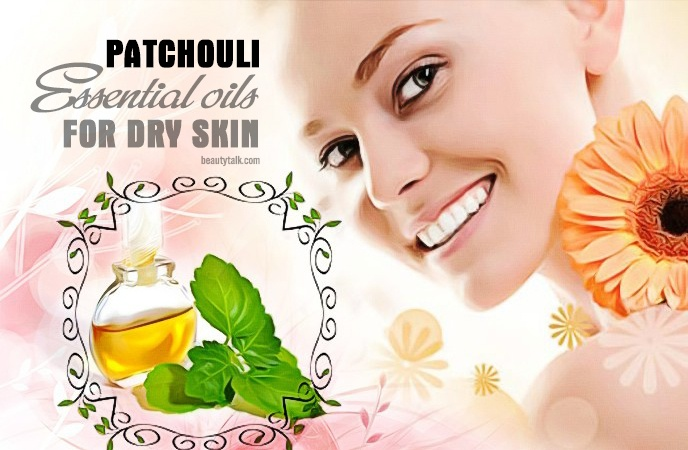 essential oils for dry skin - patchouli essential oil