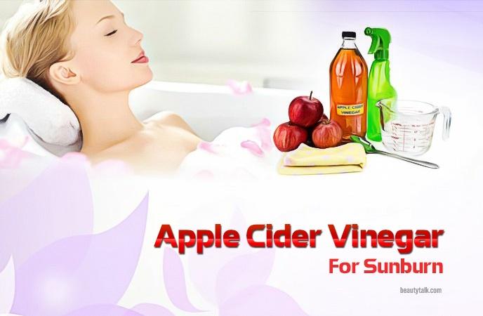 apple cider vinegar for sunburn - apple cider vinegar for sunburn