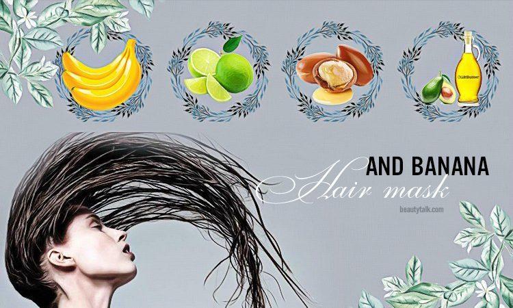 banana hair mask for dry hair