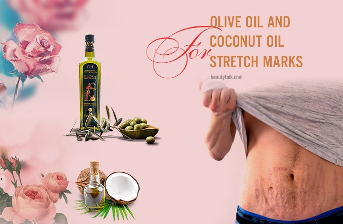 coconut oil for stretch marks - olive oil and coconut oil for stretch marks