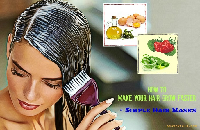 how to make your hair grow faster - simple hair masks