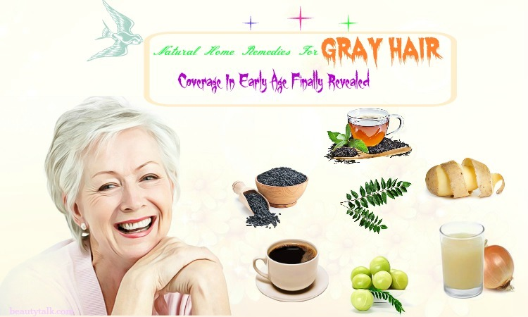 home remedies for gray hair coverage