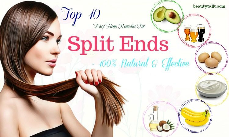 effective home remedies for split ends