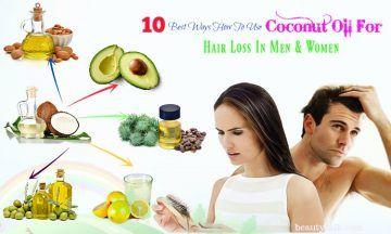 coconut oil for hair in women