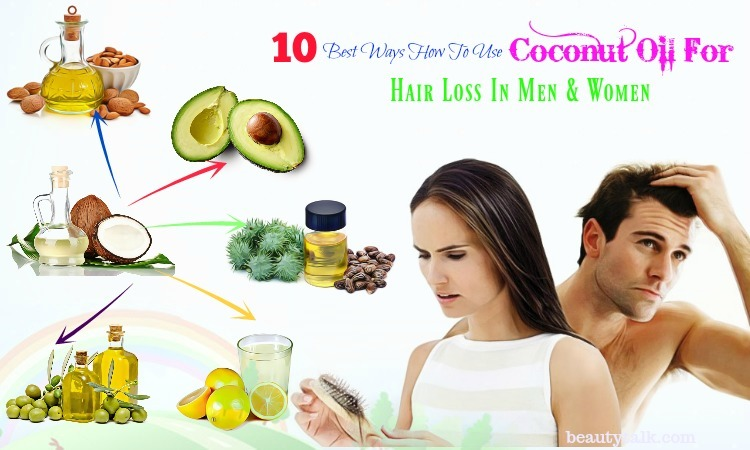 coconut oil for hair in women