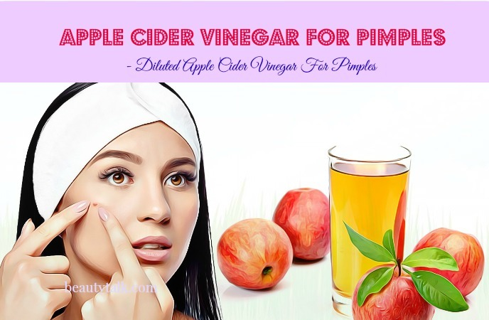 apple cider vinegar for pimples on back - diluted apple cider vinegar