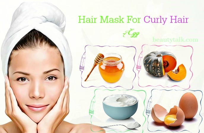 hair mask for curly hair at home - egg hair mask