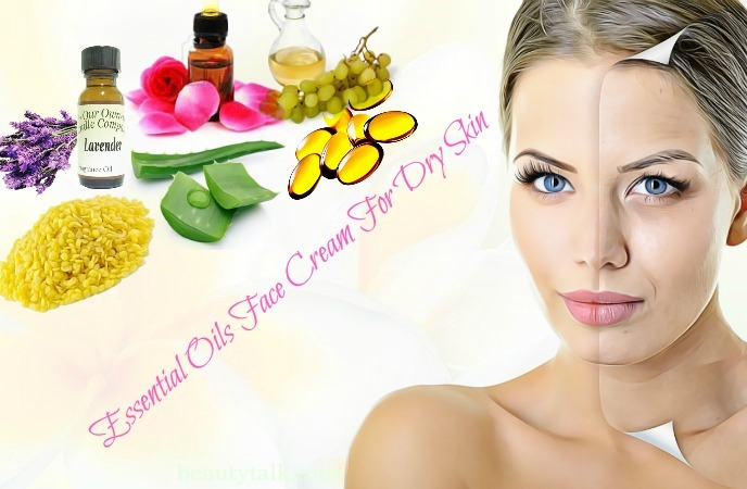 ways to make face cream for dry skin - essential oils face cream