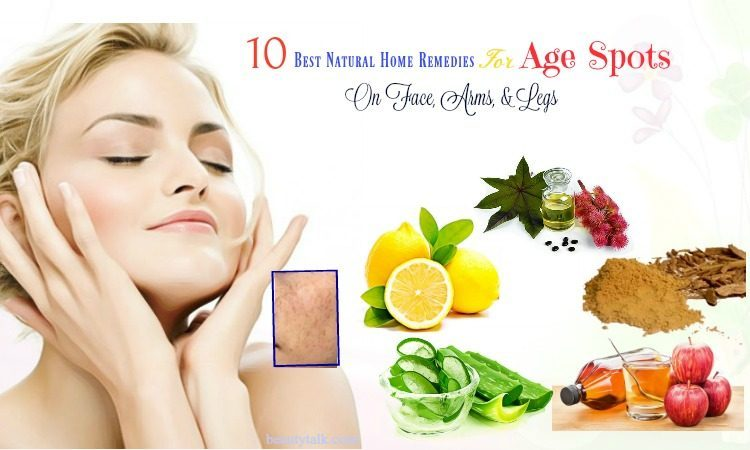 natural home remedies for age spots