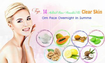 natural home remedies for clear skin